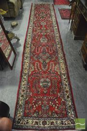 Sale 8368 - Lot 1054 - Persian Hamadan (417 x 70cm)