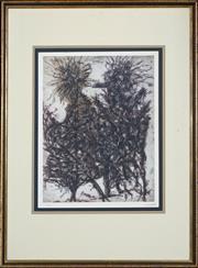 Sale 8427 - Lot 584 - Jean-Paul Riopelle (1923 - 2002) - Untitled 44.5 x 34cm
