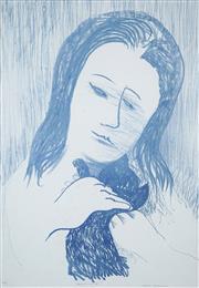 Sale 8492A - Lot 5011 - Charles Blackman (1928 - ) - Rememberance, 1988 58.5 x 84.5cm