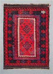 Sale 8499C - Lot 63 - Afghan Maymana Kilim 136cm x 96cm