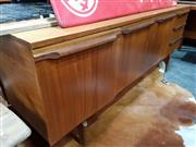 Sale 8741 - Lot 1011 - Quality 1960s Teak Sideboard