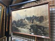 Sale 8752 - Lot 2009 - T Thornton - Weir, 1859, Watercolour, SLR