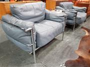 Sale 8801 - Lot 1032 - Pair of Le Corboursier Chairs