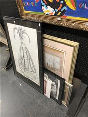 Sale 8861 - Lot 2093 - Group of 5 Works on Paper incl: A McIntosh; Barbara Romalis (2) & Gloria Muddle, Fred Braat