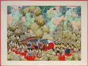 Sale 9019 - Lot 2052 - Ikt Suparta - Balinese Dance Ritual 59 x 80 cm (frame: 72 x 96 x 2 cm)