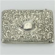 Sale 8372 - Lot 49 - English Hallmarked Sterling Silver Purse