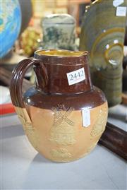 Sale 8396 - Lot 51 - Doulton Lambeth Pottery Jug