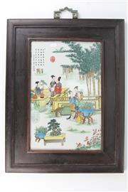 Sale 8403 - Lot 92 - Famille Rose Panel