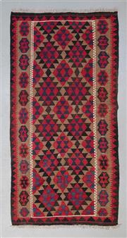 Sale 8499C - Lot 64 - Afghan Maymana Kilim 193cm x 99cm