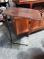 Sale 8822 - Lot 1250 - Early Metal Adjustable Bed Table