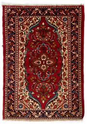 Sale 8715C - Lot 171 - A Persian Hamadan Classed As Village Rugs, Wool On Cotton Foundation, 155 x 110cm