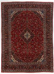 Sale 8740C - Lot 43 - A Persian Kashan From Isfahan Region 100% Wool Pile On Cotton Foundation, 400 x 298cm