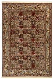 Sale 8780C - Lot 233 - An Iranian Mood Rug, Khorasan Region, Super Very Fine Wool And Silk Pile., 303 x 205cm