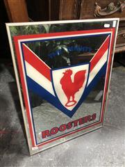 Sale 8822 - Lot 1859 - Vintage Roosters Mirror