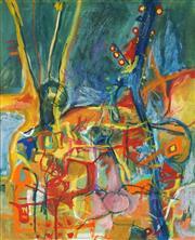 Sale 8838A - Lot 5007 - Margarita (Rita) Georgiadis (1968 - ) - Untitled (Abstract III) 75 x 55.5cm