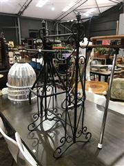 Sale 8893 - Lot 1095 - Ornate Metal Hand Towel Rail