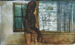 Sale 9154JM - Lot 5039 - CHARLES BLACKMAN (1928 - 2018) Girl by a Window archival pigment print, ed. A/P 100 x 163.5 cm(frame: 112 x 177 x 3 cm) signed lower...