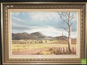 Sale 8413T - Lot 2054 - J Hansen, Mia Dungog, oil on board, 49.5 x 75cm, signed and dated lower left