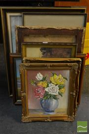 Sale 8522 - Lot 2079 - Collection of Paintings & Prints; Various Media, Various Sizes