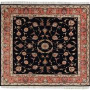 Sale 8860C - Lot 10 - A Persian Fine Tabriz Rug, 50 Raj, in Wool & Silk Inlaid 140x150cm