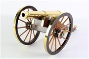 Sale 8897 - Lot 20 - A Custom Built 1970s Reproduction Field Canon Model (L 45cm)