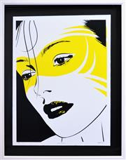 Sale 8349A - Lot 113 - Tyrone Rone Wright (1980 - ) - Clara Masked, 2009 102 x 75cm