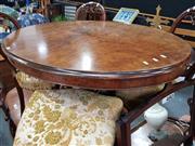 Sale 8700 - Lot 1025 - Walnut Breakfast Table