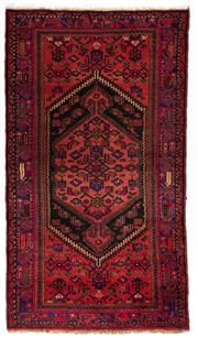 Sale 8715C - Lot 133 - A Persian Hamadan Classed As Village Rugs, Wool On Cotton Foundation, 225 x 129cm