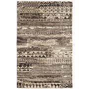Sale 8860C - Lot 11 - An India Sahara Design Charcoal, in Handspun Wool 121x106 cm