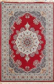 Sale 8889 - Lot 1014 - Red Tone Floor Rug (240 x 170)