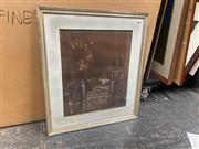 Sale 9072 - Lot 2070A - A C19th English Family Portrait, graphite and gouache (AF) , 62 x 54cm (frame) -