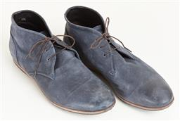 Sale 9120K - Lot 97 - A pair of Giorgio Armani suede lace up shoes; size 7