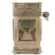 Sale 8387 - Lot 48 - George Polkey Copper & Brass Railway Lantern
