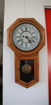 Sale 8825A - Lot 98 - Antique wall clock