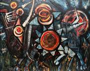 Sale 8901 - Lot 507 - Alan Thornton (1933 - ) - Untitled,1962 91 x 115 cm