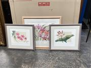 Sale 9072 - Lot 2077 - Group of (3) Still Life colour lithographs by David Miles