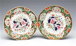 Sale 9093P - Lot 85 - Pair of Spode C19th Imari Plates, diam. 22cm.
