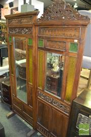 Sale 8390 - Lot 1488 - Colonial Teak Room Divider