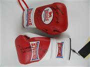 Sale 8450S - Lot 771 - Lonsdale Gloves (both left, 1x 8oz. 1x 10oz.), signed