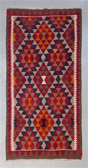 Sale 8499C - Lot 65 - Afghan Maymana Kilim 189cm x 104cm