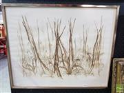 Sale 8541 - Lot 2094 - Paul Jones - Melancholy Forest 51.5 x 64.5cm