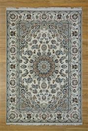 Sale 8559C - Lot 99 - Indo Persian Silk Inlaid 164cm x 245cm