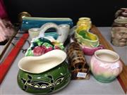 Sale 8658 - Lot 84 - Australian Pottery Collection including Pates And Braemore