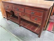 Sale 8669 - Lot 1094 - Six Drawer Hall Table