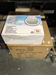 Sale 8789 - Lot 2261 - 6 x CCM Ceiling Exhaust Fans as new