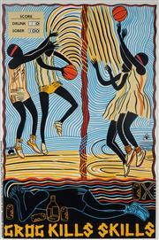 Sale 8992 - Lot 592 - Marie McMahon (1953 - ) - Grog Kills Skills, Basketball sheetsize: 75 x 50 cm (frame: 88 x 63 x 4 cm)