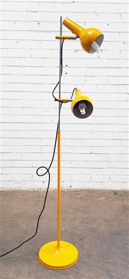 Sale 9134 - Lot 1077 - Oslo floor lamp in yellow (h:160cm)