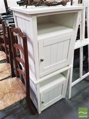 Sale 8424 - Lot 1084 - Pair of Bedsides