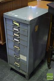 Sale 8528 - Lot 1044 - 7 drawer file unit