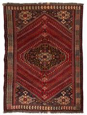 Sale 8715C - Lot 107 - A Persian Kashqai Shiraz, 100% Wool Pile, 244 x 174cm